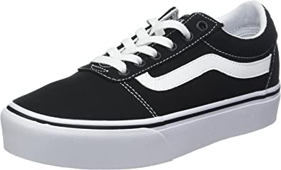 Vans Ward Platform Canvas, Sneakers Basses Femme