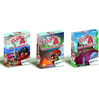 Átomo Games Club A. Pack de 3 Juegos: Jeff el grumete, Bob el Explorador y Jessie The Tourist