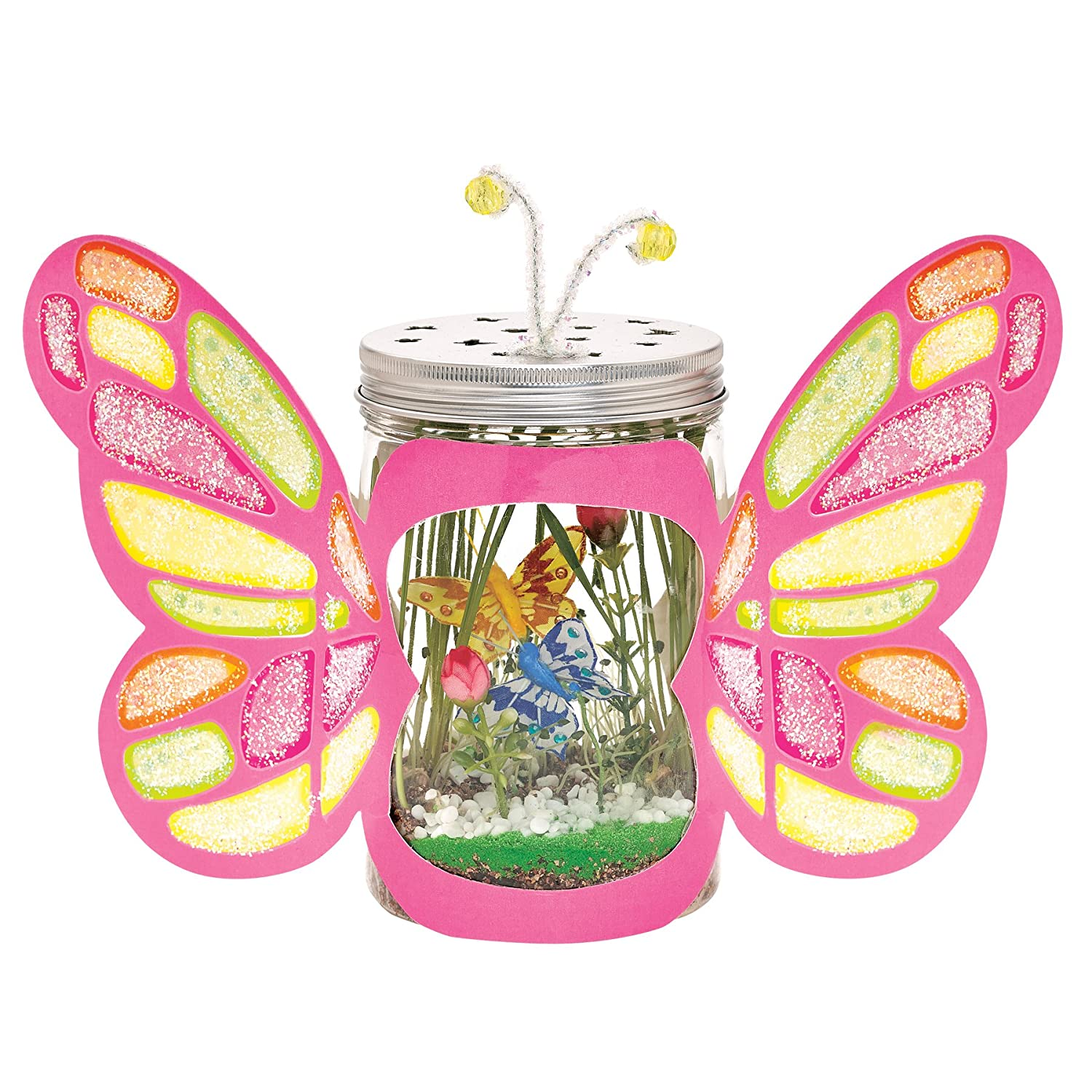 amazon com creativity for kids sparkle n u0027 grow butterfly