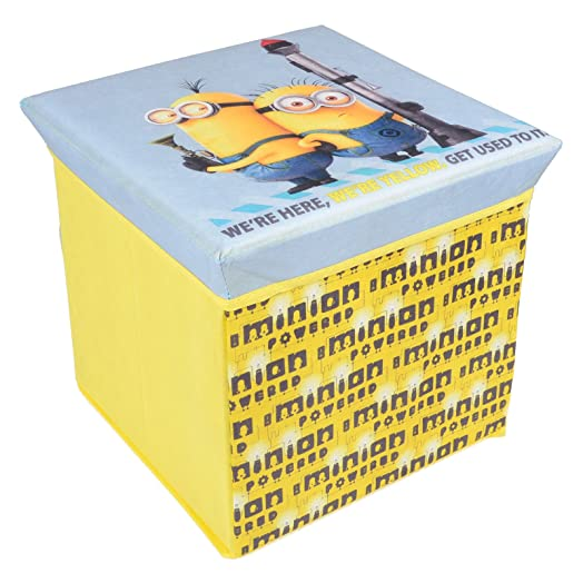 DESPICABLE ME MINION STORAGE STOOL OTTOMAN KIDS TOY BOX CHEST  sc 1 st  Amazon UK & DESPICABLE ME MINION STORAGE STOOL OTTOMAN KIDS TOY BOX CHEST ... islam-shia.org