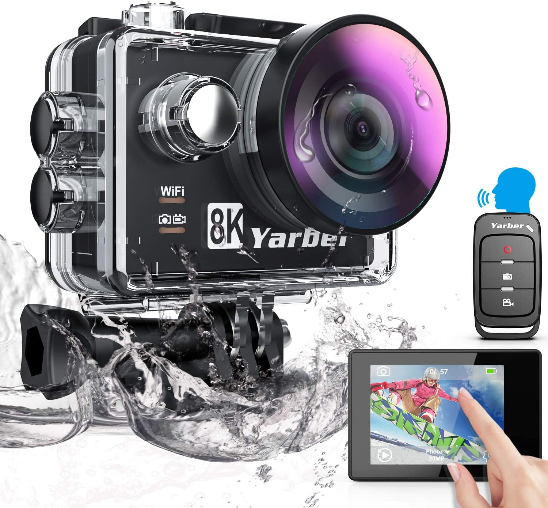 Yarberアクションカメラ 8K