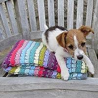 Vintage Rainbow Blanket Crochet Kit – all-inclusive gift for crochet lovers