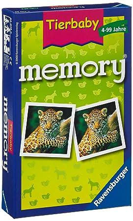 Ravensburger 23013 - Tierbaby memory - Kinderspiel/ Reisespiel