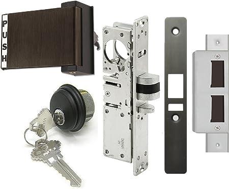 Left Hand Aluminum Adams Rite Style Deadlatch Lever Handle for Storefront Door Lock