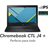 Chromebook CTL J4+ Quad Core ARM 1.8GHz RK3288–4GB DDR3L/16GB eMMC–LED 1366x 768IPS