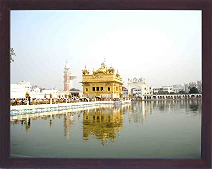 Amazon.com - Holy and Religious View of Sikh pilgrim religious place ...