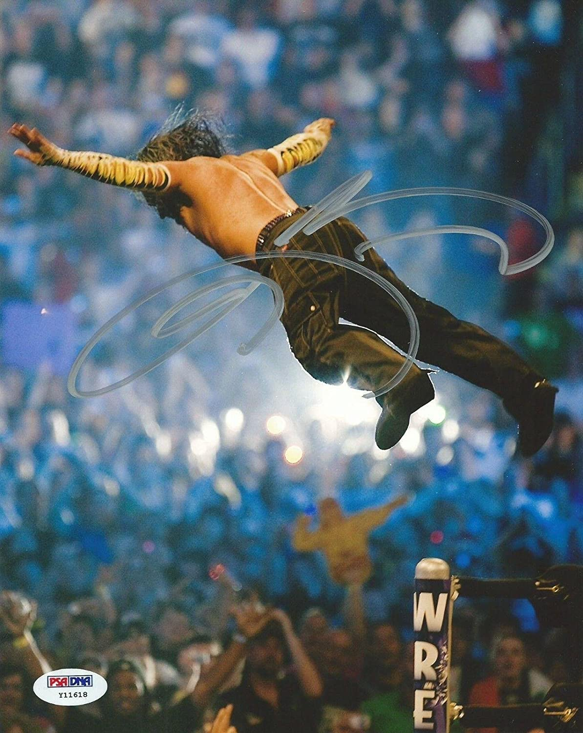 Wwe tna jeff hardy autographed 11x14 photo auto signed autograph - Jeff Hardy Signed Wwe 8x10 Photo Coa Wrestlemania 25 Picture Autograph Psa Dna Certified Autographed Wrestling Photos At Amazon S Sports Collectibles
