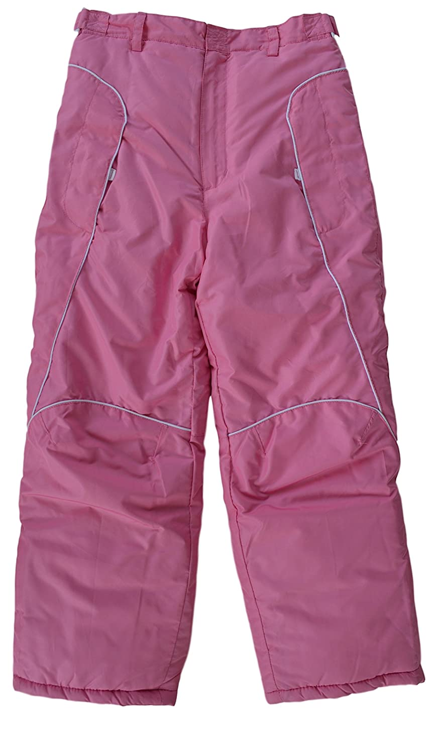 London Fog Youth Girl's Insulated Snow Pant Pink 14/16