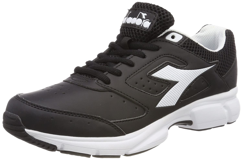 Shape 9 SL, Zapatillas de Running para Hombre, Negro (Nero Jet Bianco), 45 EU Diadora
