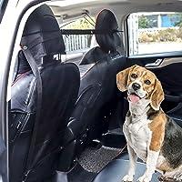 MengH-SHOP Red de Perros para Coche Reja Coche Perro Protector de Malla de Seguridad Universal para Mascotas Cachorros Gatos 115 x 62 cm Negro