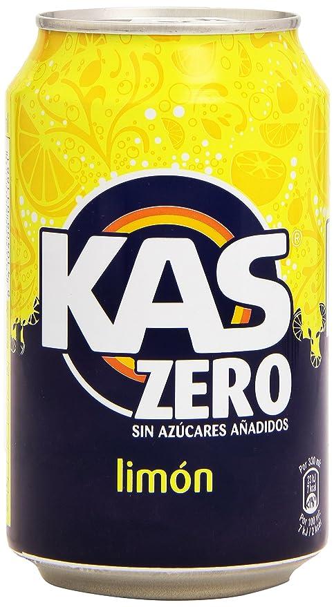 Kas refresco de Zumo de Limón con Edulcorantes, sin Azúcares Añadidos - 33 cl