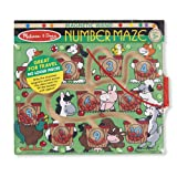 Melissa & Doug Magnetic Wand Number Maze