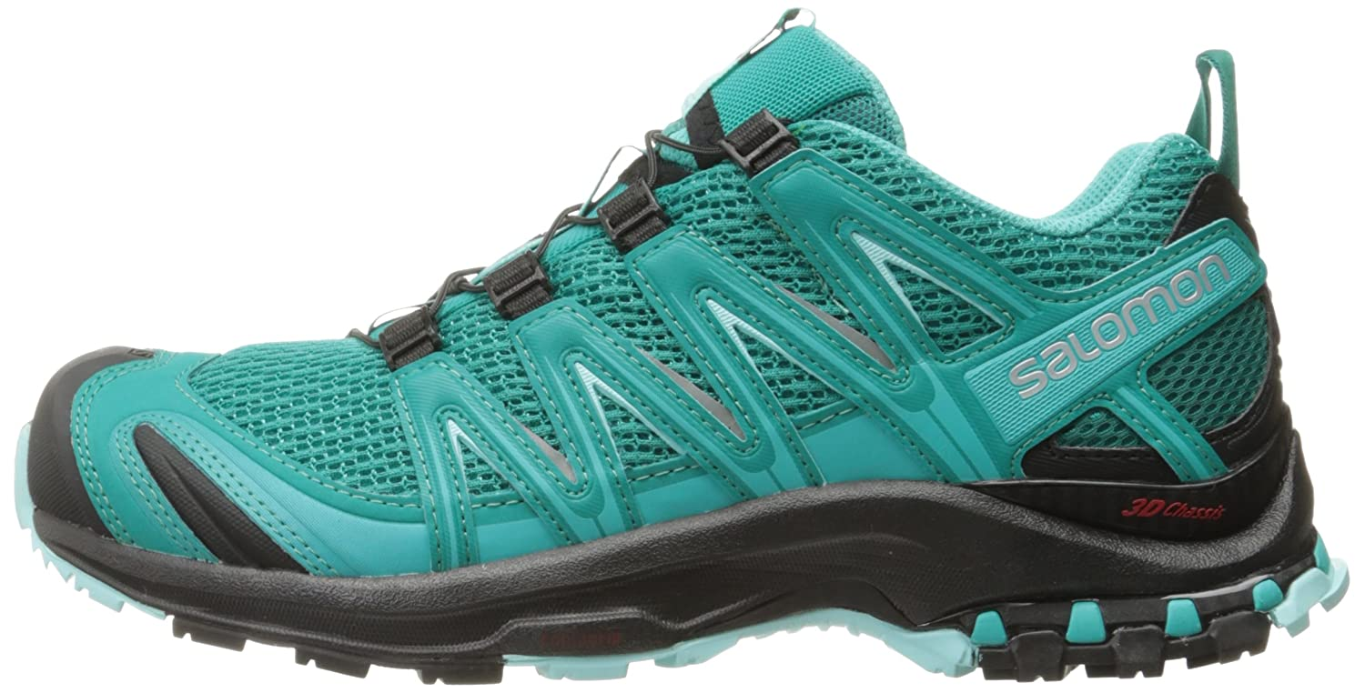 Salomon Women's Xa Pro 3D W Trail Runner B01HD2PI54 Blue/Black/Aruba 6.5 D US|Deep Peacock Blue/Black/Aruba B01HD2PI54 Blue eb65ba