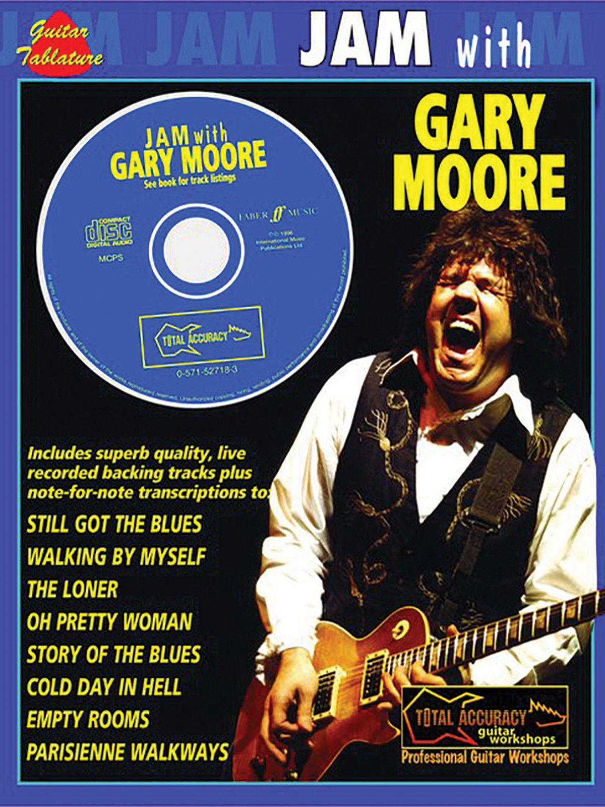Amazon Jam With Gary Moore Book Cd Faber Edition Jam With