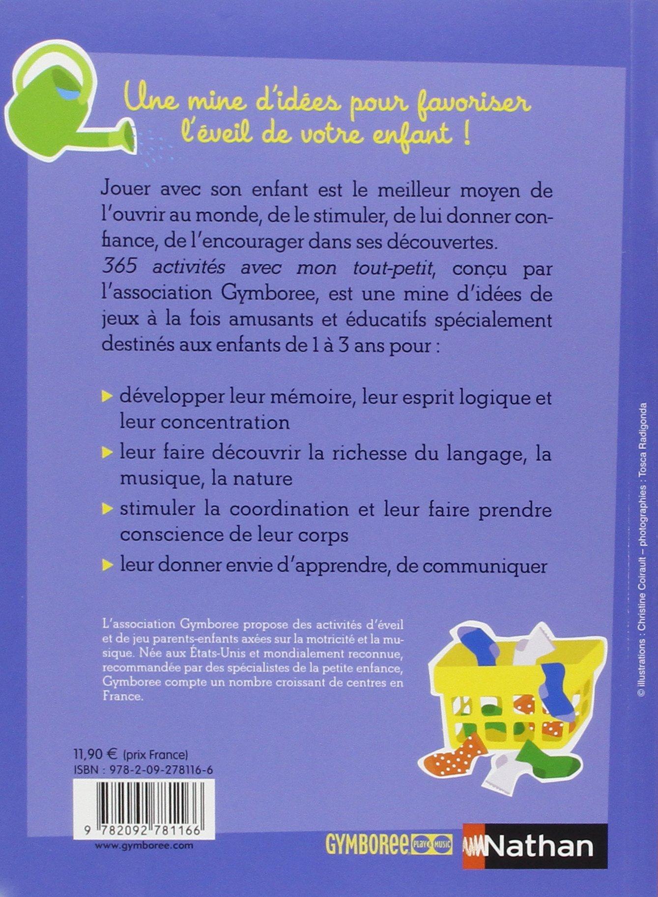 Exceptionnel 365 activités avec mon tout-petit (1-3 ans): Amazon.fr: Nancy  TP15