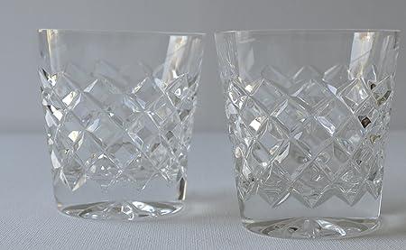Edinburgh Crystal Early 1980s Cut Whisky Tumbler Stunning Design