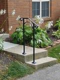 Iron X Handrail Arch #1