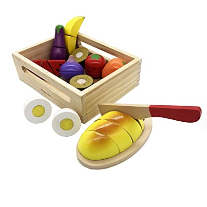 Super Komorebi Play Cut Food Wooden Preschool Toys Pretend Play Kitchen Set Early Educational Development Toys For 2 3 4 5 6 Year Old Kids Learning Color Download Free Architecture Designs Lectubocepmadebymaigaardcom