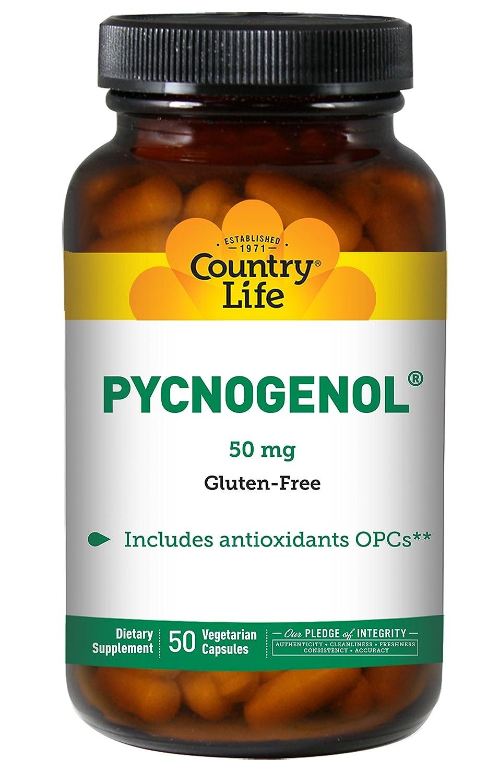 Country Life Pycnogenol® -- 50 mg - 50 Vegetarian Capsules ピクノジェノール ~海外直送品~ B00020IJLU
