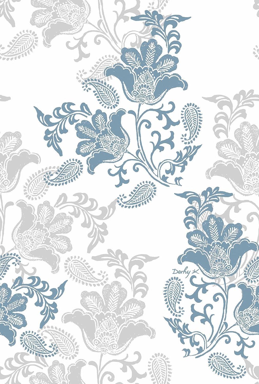 Derhy Housse DE Couette 140x200 Camille Bleu
