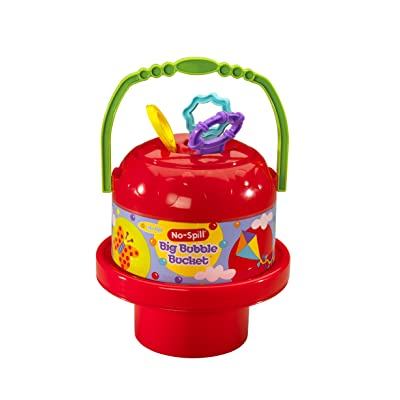 Little Kids No Spill Big Bubble Bucket, Colors May Vary: Toys & Games