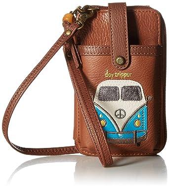 3db4ed83f7fc64 The Sak Unisex Iris N/S Smartphone Crossbody-Tobacco, Bus, One Size:  Handbags: Amazon.com