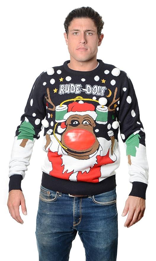 3D Snowballs Sweater