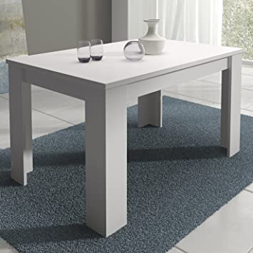 HomeSouth - Mesa de Comedor Extensible, Modelo Corfu Color Blanco ...