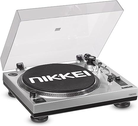 Nikkei NTT15U - Tocadiscos Color Negro: Amazon.es: Electrónica