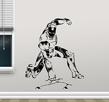 Iron Man Wall Decal Avengers Stencil Poster Marvel Comics Tony Stark  Superhero Vinyl Sticker Cool Movie Part 50