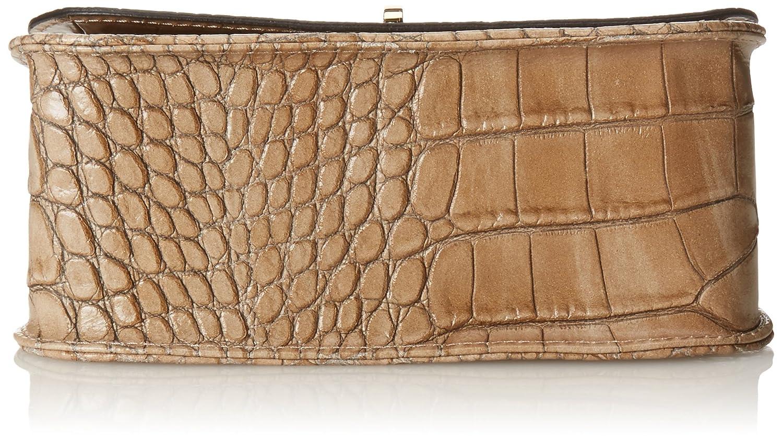 20 cm Grey Fango 20 cm Women/'s Clutch Bag Chicca Borse
