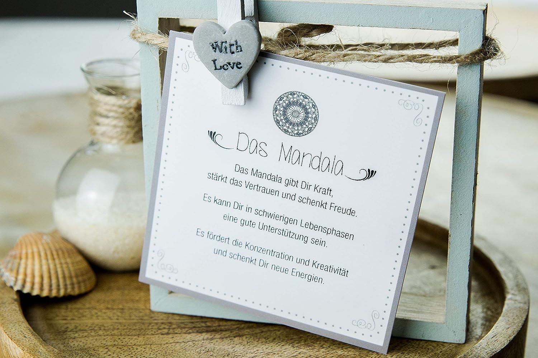 Mandala Armband Kugelkette G-Box Geschenkkarte