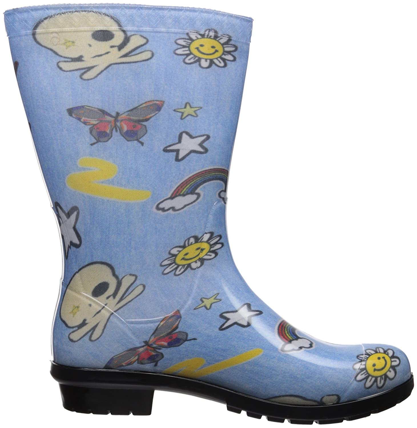 eb4598f8437 UGG Kids K Raana Patches Rain Boot