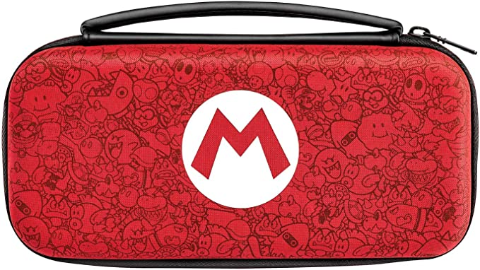 PDP - Funda Deluxe Travel Case Edición Mario Remix (Nintendo ...