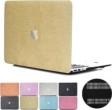 Estuche PapyHall para MacBook Estuche de plástico con brillo, recubierto de goma, ultra delgado, liviano, para el viejo MacBook Pro CD-ROM de 13 pulgadas (sin Retian/Touch) Modelo: A1278 (MS-Gold): Amazon.es: Juguetes y