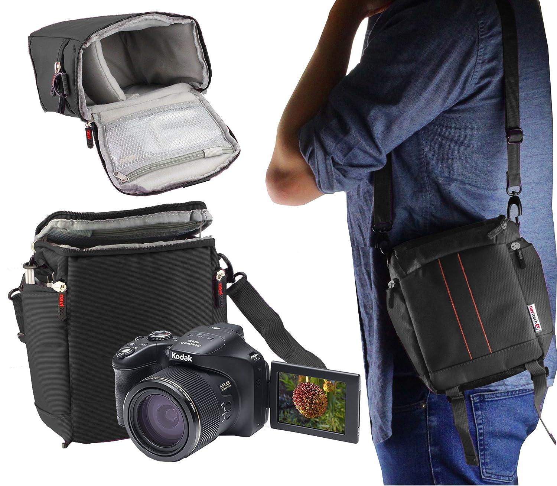 Navitech ブラックカメラキャリーケース トラベルバッグ Nikon Coolpix P900 対応 B07JMFKNL5