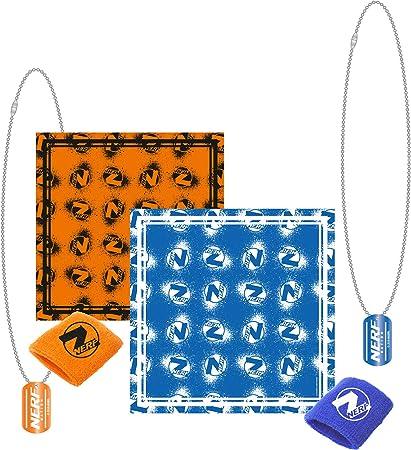 COOLMP – Lote de 3 – Pack Nerf 12 Piezas – Talla única – Accesorios de Fiesta, Disfraz, Juegos y Juguetes: Amazon.es: Juguetes y juegos