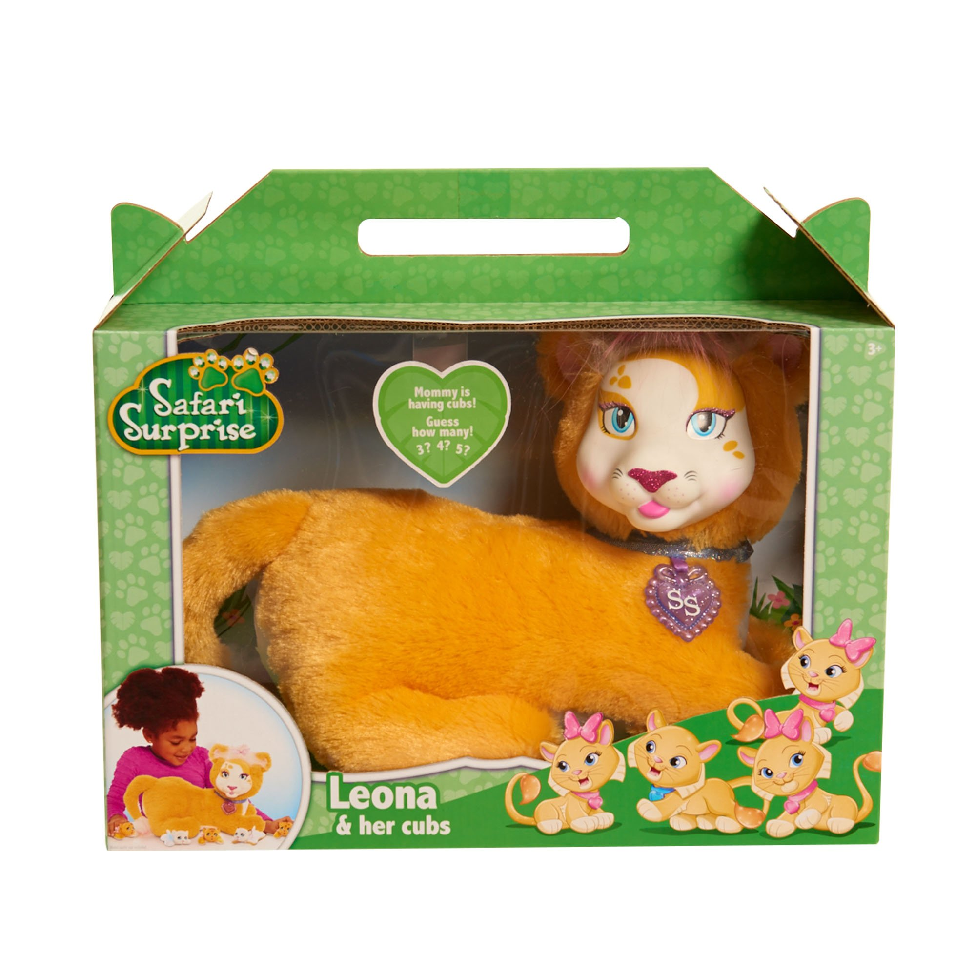 Lion Kitten Toys For Girls Kids 3 4 5 6 7 8 Year Old Age Girl Play