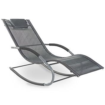 JardinPatioTerrasse – Extérieur Vonhaus De À Relaxation Longue Pour Bascule Chaise Textoline XiTwPkZOu