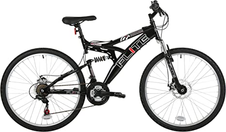 Flite FL053 - Bicicleta de montaña con doble suspensión (rueda 26 ...