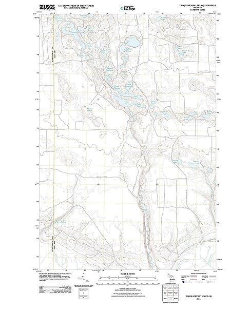 Amazon Com Michigan Maps 2011 Tahquamenon Lakes Mi Usgs