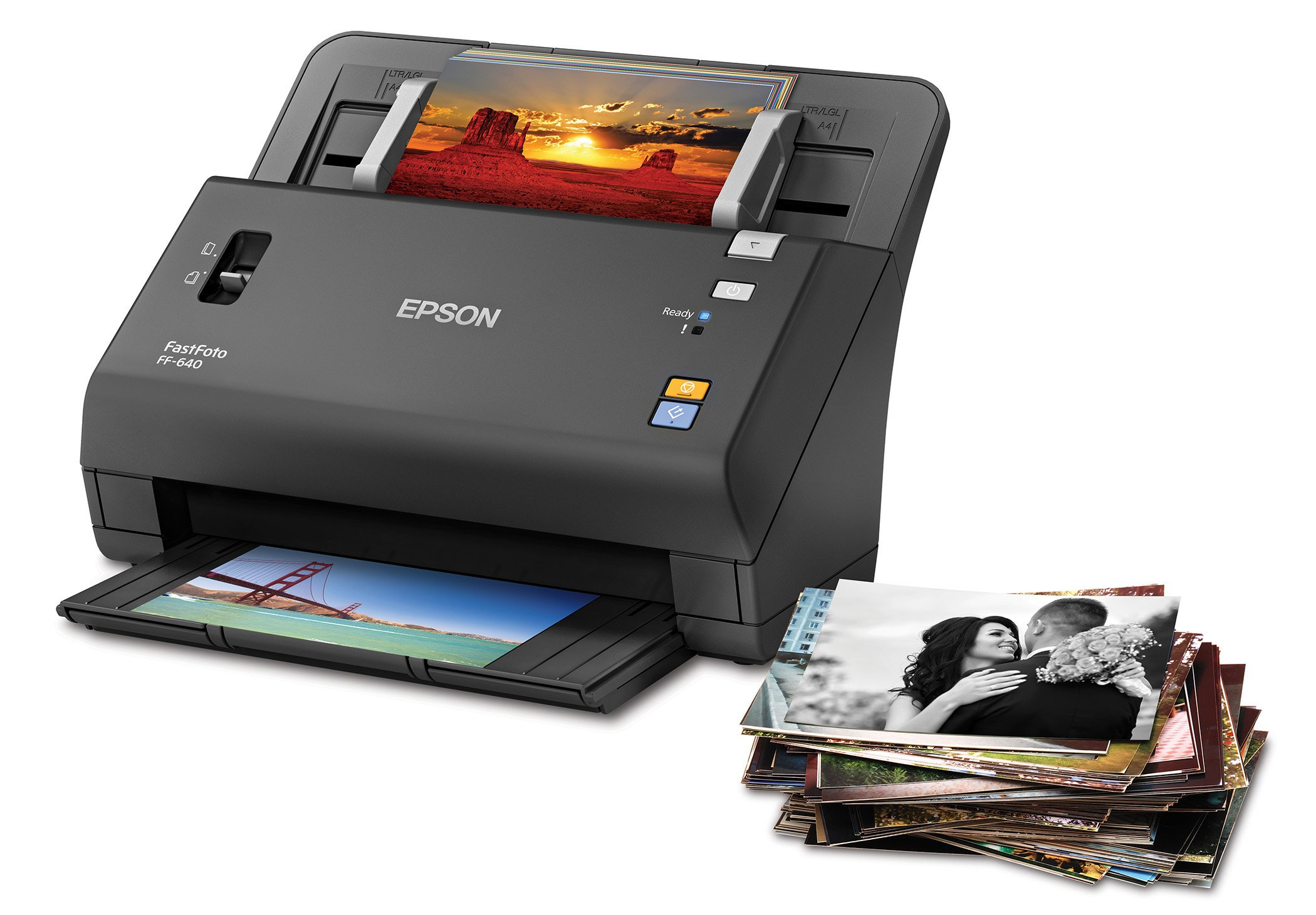 Epson FastFoto FF-640 High-Speed Photo Scanning System with Auto Photo Feeder by Epson (Image #5)