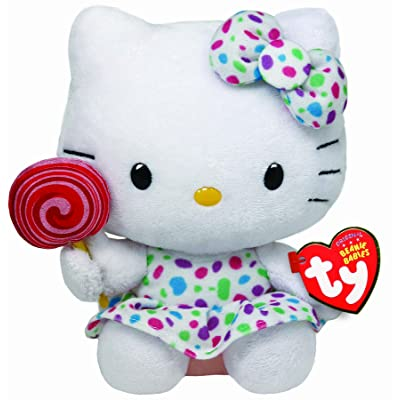 Ty Beanie Baby Hello Kitty - Lollipop: Toys & Games