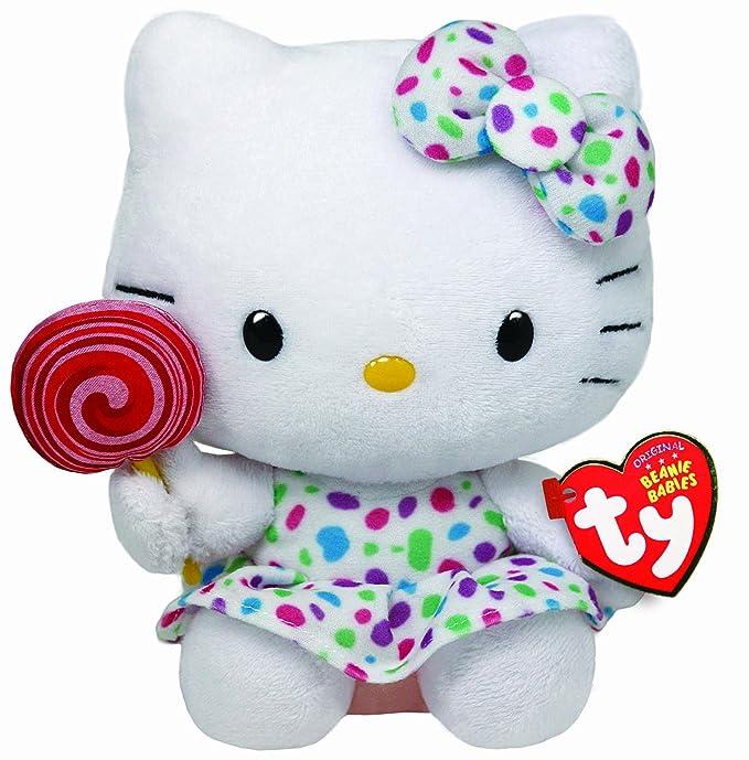 Hello Kitty - Peluche piruleta, 15 cm (United Labels 40961TY)