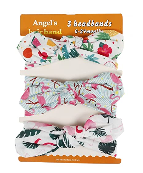 Amazon Com Baby Girls Headband Hair Turban Printed Watermelon