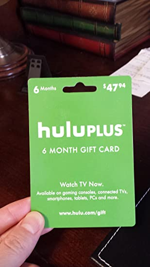 Hulu Plus 6-Month Gift Card TOP SELLING It Can be used for new or existing acoount , The code will be sent via Amazon message in 24 hours after cleared ...