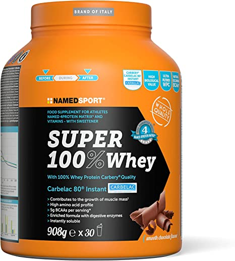 Named Sport PROTEINA SUPER 100% WHEY CHOCOLATE 908g