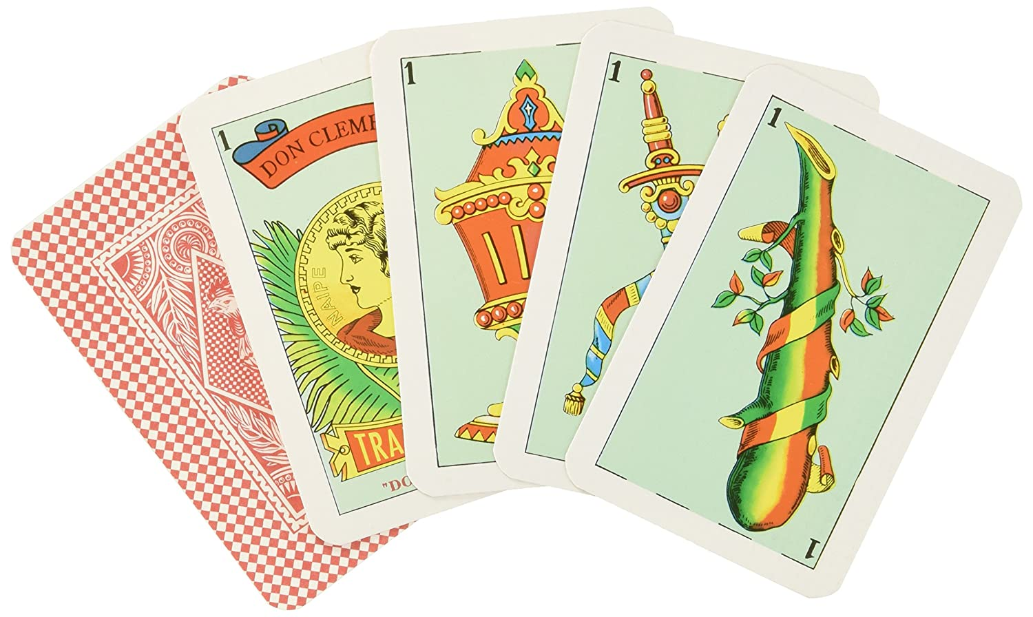Don Clemente Tradicional Playing Cards in Hard Case