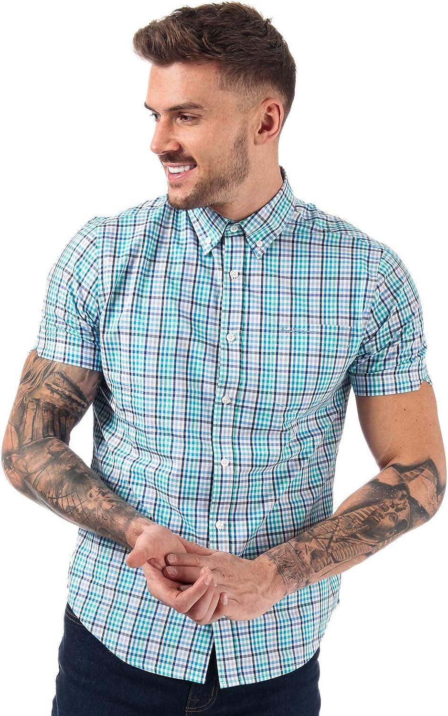 Ben Sherman - Camisa Casual - para Hombre Verde Menta M: Amazon.es: Ropa y accesorios