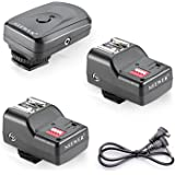 Neewer 16 Channel Wireless FM Speedlite Radio Trigger with 2.5mm PC Receiver for Speedlite Units with Hot Shoe